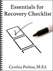 Essentials for Recovery Checklist eBook