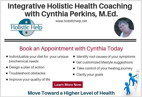Holistic Health Coaching with Cynthia